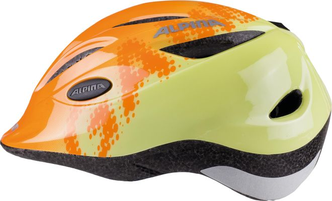 Alpina Fahrrad Helm Kinder Gamma 2.0 - orange yellow – Bild 3