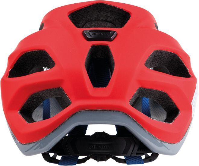 Alpina Fahrrad Helm Carapax - red blue – Bild 2