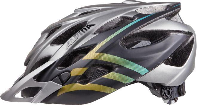 Alpina Fahrrad Helm D-Alto L.E. - darksilver black gradient – Bild 1