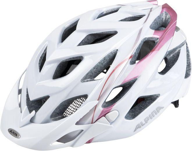 Alpina Fahrrad Helm D-Alto - white rose gold – Bild 2
