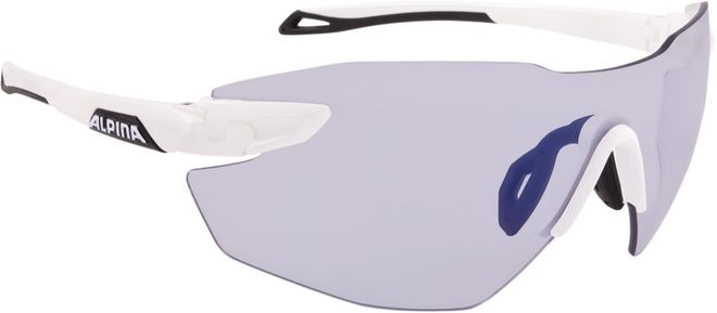 Alpina Sportbrille Twist Five Shield  RL VLM+ - white black