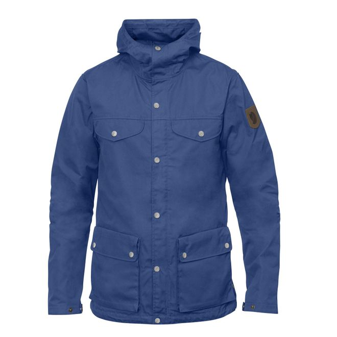 Fjällräven Herren Outdoorjacke Greenland Jacket - Deep Blue – Bild 1