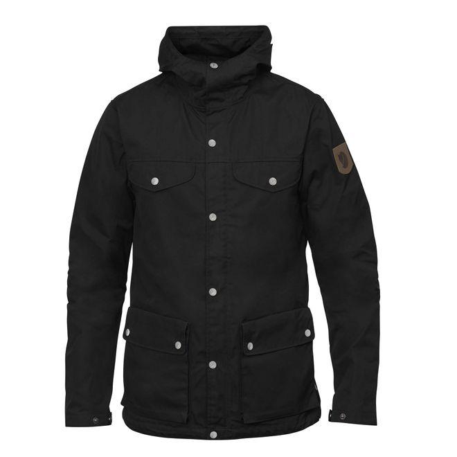 Fjällräven Herren Outdoorjacke Greenland Jacket - Black – Bild 1