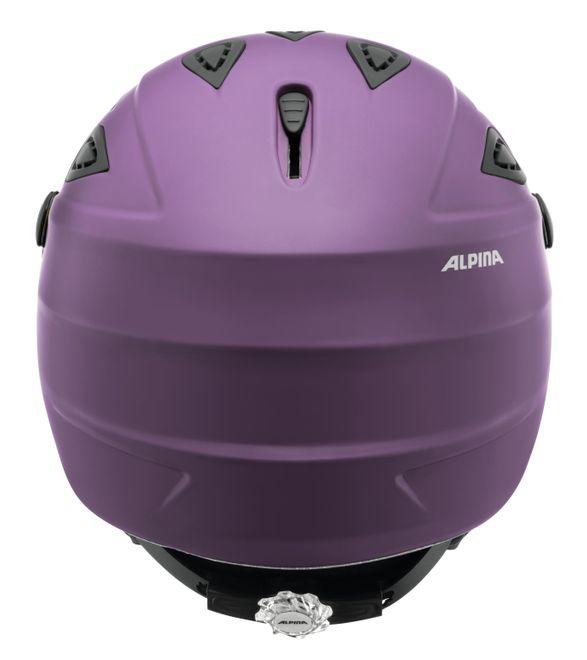 Alpina Skihelm Grap Visor - deep-violet matt – Bild 2