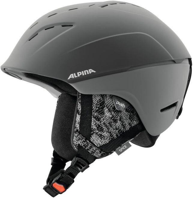 Alpina Skihelm Spice - grey matt