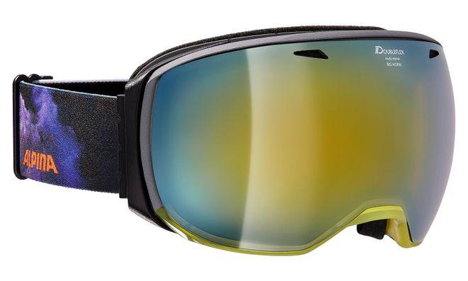 Alpina Skibrille Big Horn MM - yellow Mirror gold