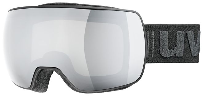 Uvex Skibrille compact LM - white/ double lens spheric silver mirror – Bild 3