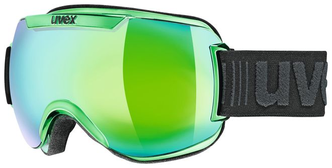 Uvex downhill 2000 race FM Skibrille - green-chrome