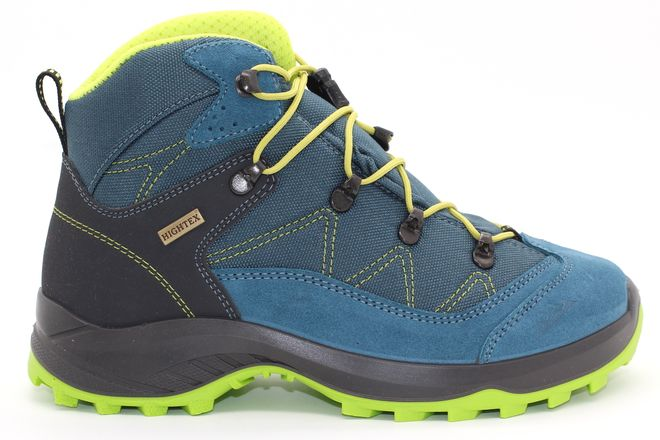 High Colorado Vilan Mid Junior HT Trekkingschuh - blau-grün – Bild 2