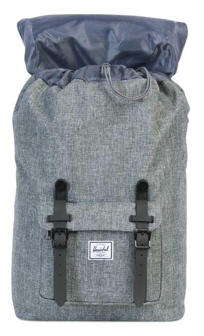 Herschel Little America Mid-Volume Backpack Raven Crosshatch, 17 L – Bild 2