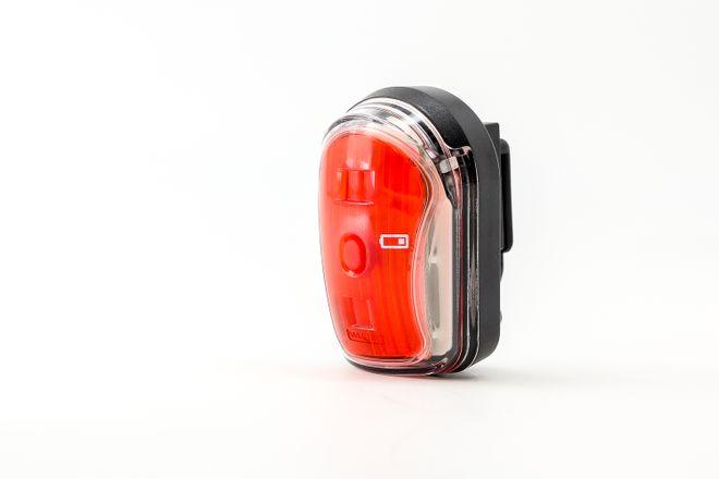 Litecco Fahrrad Batterierückleuchte Cando - schwarz – Bild 1