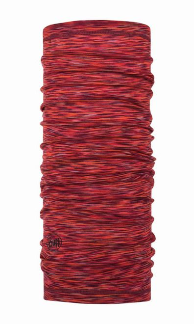 Buff Lightweight Merino Wool Multifunktionstuch - rusty multi stripes
