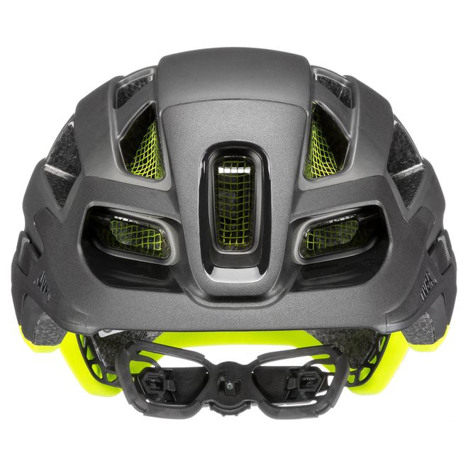 Uvex Fahrrad Helm finale 2.0 - grey yellow mat – Bild 3