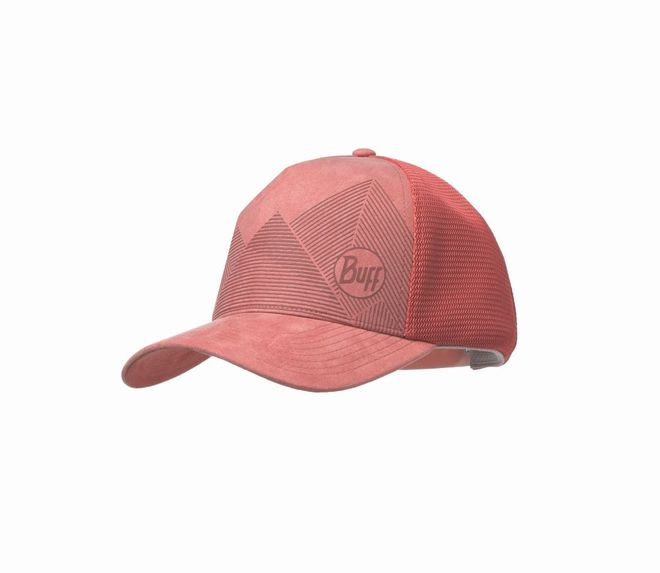 Buff Trucker Cap - nera pale peach