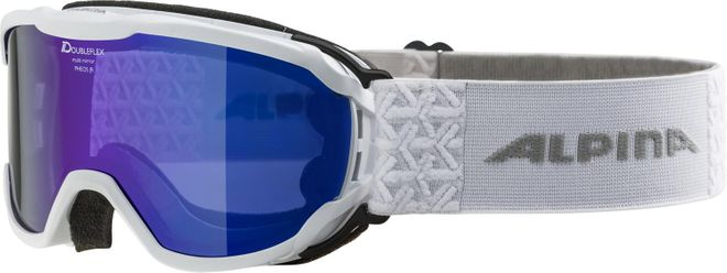 Alpina Pheos Jr. Jugend Skibrille - white MIRROR blue – Bild 1