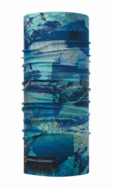Buff Original Multifunktionstuch National Geographic - antartic ocean blue