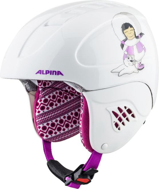 Alpina Skihelm Carat Junior - eskimo-girl – Bild 1