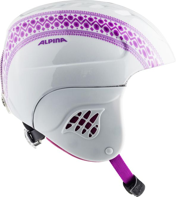 Alpina Skihelm Carat Junior - eskimo-girl – Bild 2