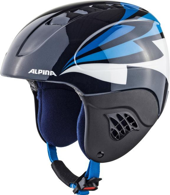 Alpina Skihelm Carat Junior - nightblue – Bild 2
