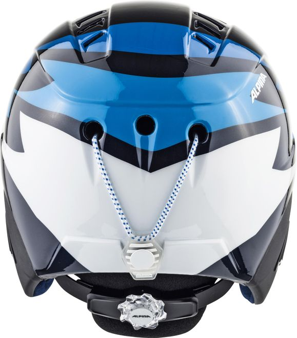 Alpina Skihelm Carat Junior - nightblue – Bild 3