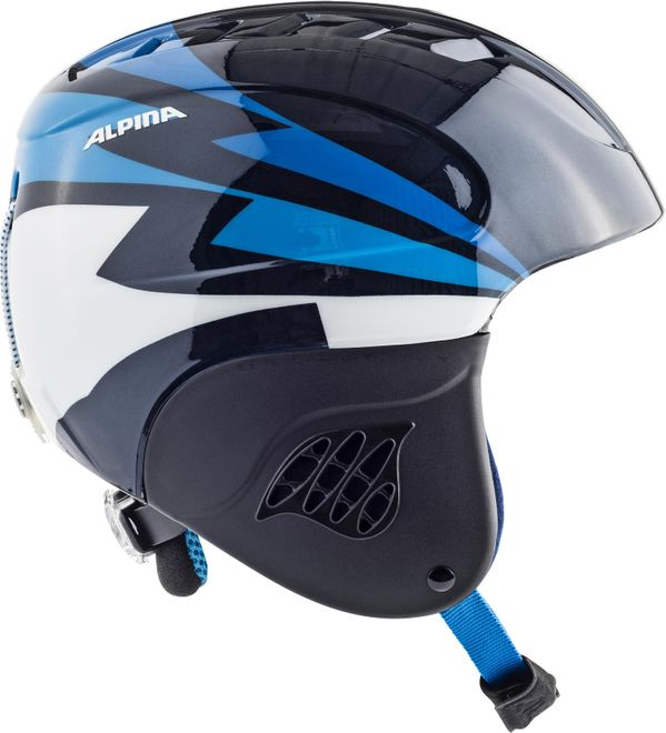 Alpina Skihelm Carat Junior - nightblue – Bild 1
