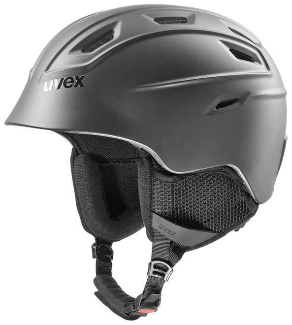 Uvex fierce Skihelm - black mat – Bild 1