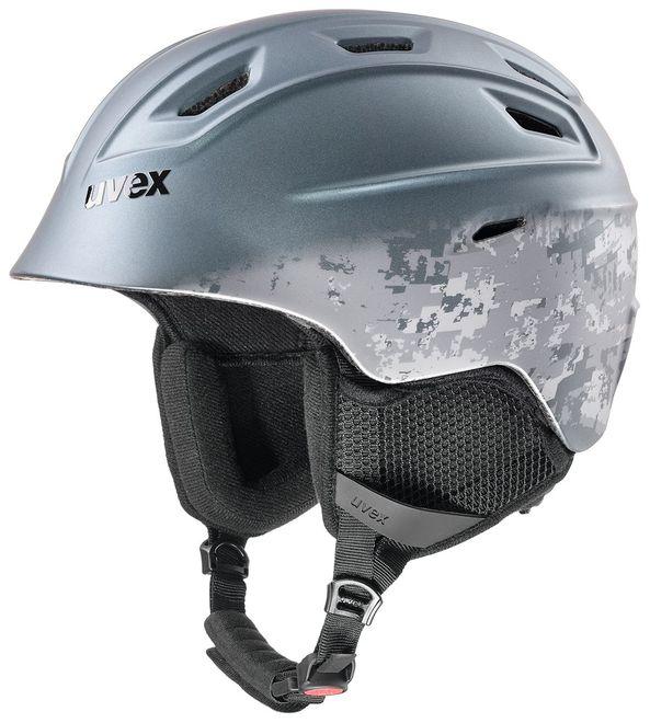 Uvex fierce Skihelm - gun met mat – Bild 1