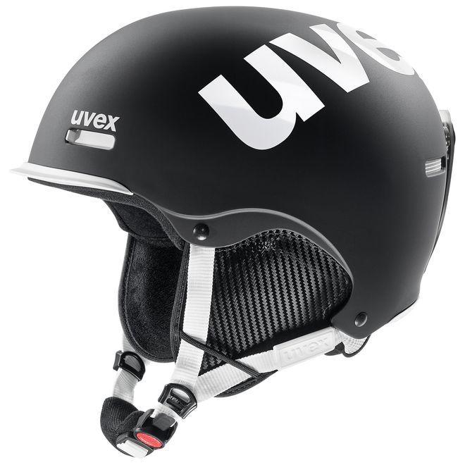 Uvex hlmt 50 Skihelm - black-white mat – Bild 1