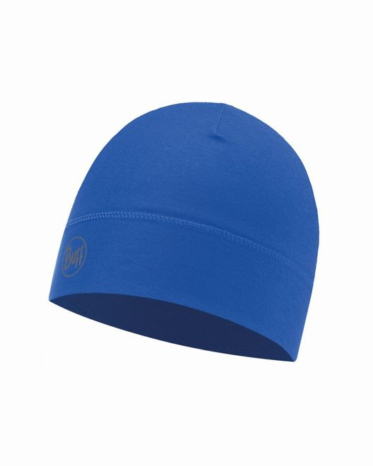 Buff Microfiber 1 Layer Hat - solid cape blue