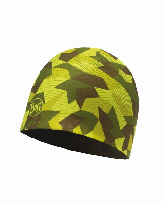 Buff Microfiber Reversible Hat - block camo green – Bild 2