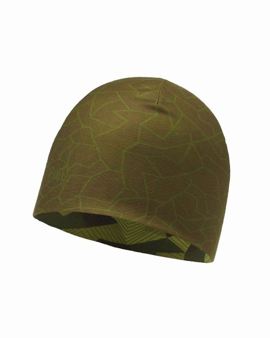 Buff Microfiber Reversible Hat - block camo green – Bild 1