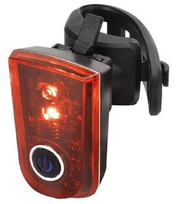 XLC LED Batterie-Fahrrad-Rücklicht Sirius - B CL-R23