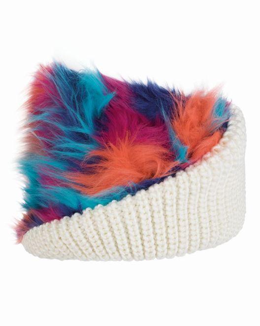 Buff Chic Knitted Wrap - cru – Bild 2