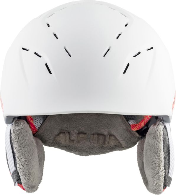 Alpina Skihelm Spice - white flamingo matt – Bild 3