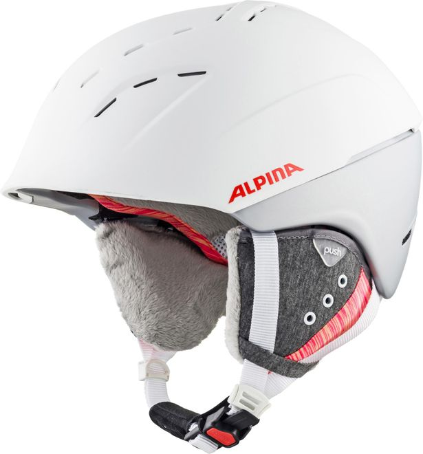Alpina Skihelm Spice - white flamingo matt – Bild 1