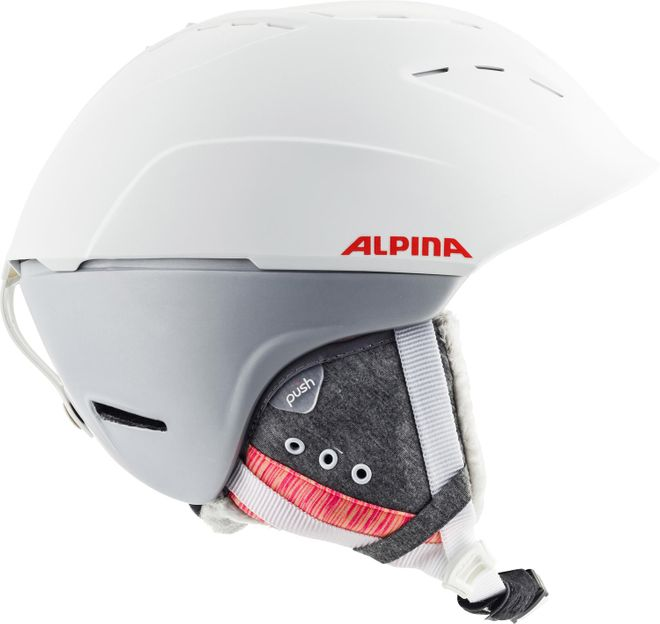 Alpina Skihelm Spice - white flamingo matt – Bild 4