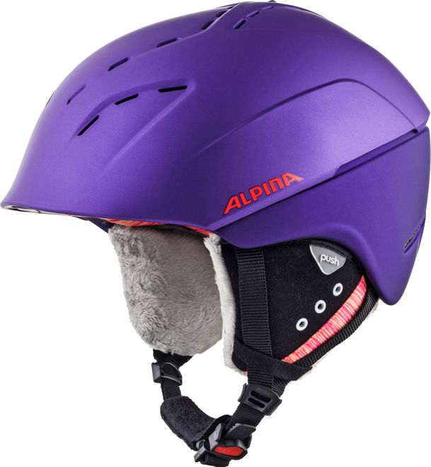 Alpina Skihelm Spice - royal-purple matt – Bild 2