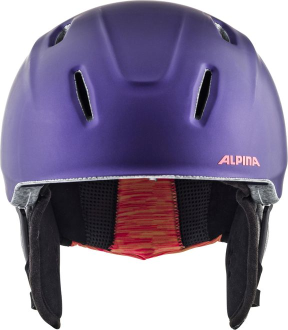 Alpina Skihelm Carat XT - royal-purple matt – Bild 1