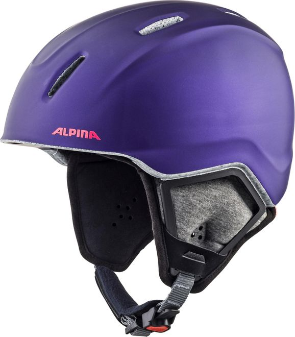 Alpina Skihelm Carat XT - royal-purple matt – Bild 2