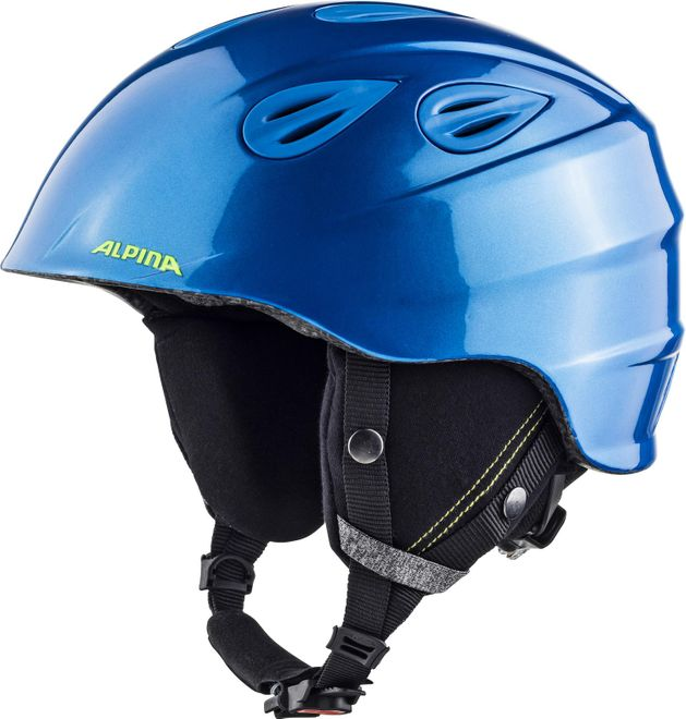 Alpina Grap 2.0 L.E. Skihelm - blue neon yellow – Bild 3
