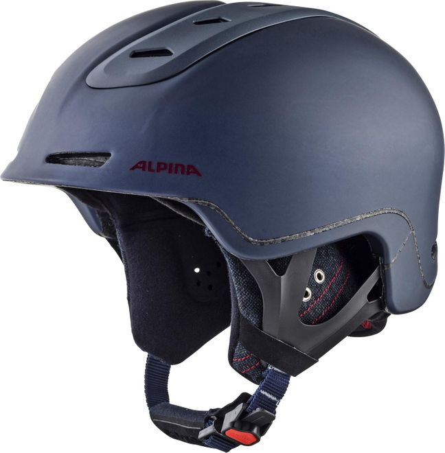 Alpina Skihelm Spine - nightblue-bordeaux matt – Bild 1