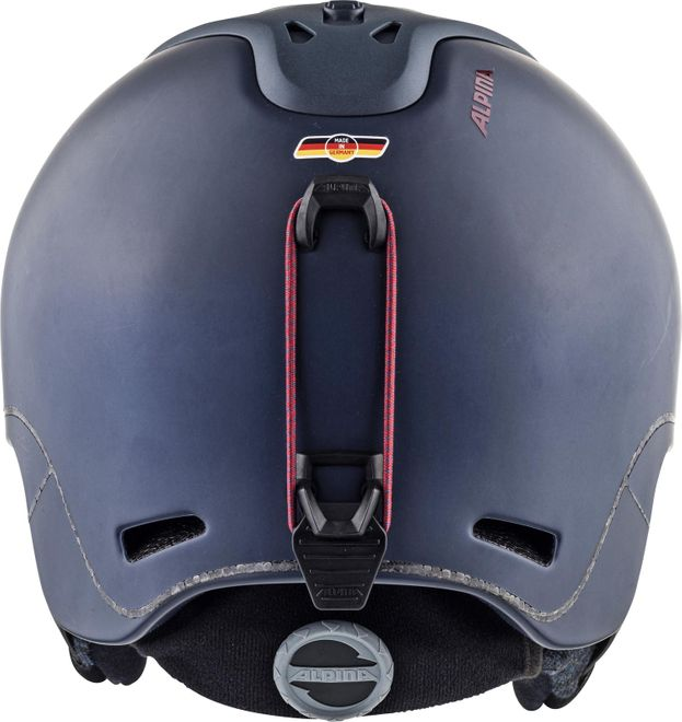 Alpina Skihelm Spine - nightblue-bordeaux matt – Bild 3