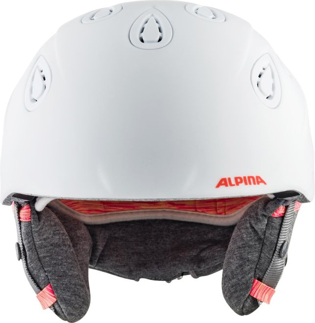Alpina Skihelm Grap 2.0 L.E. - white-flamingo matt – Bild 2