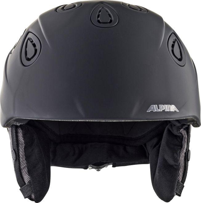 Alpina Skihelm Grap 2.0 L.E. - dark black matt – Bild 2