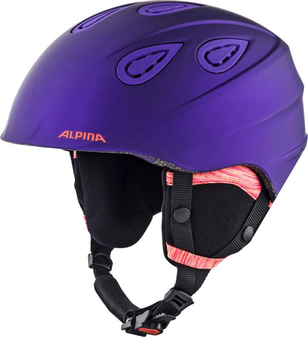 Alpina Skihelm Grap 2.0 L.E. - royal-purple matt – Bild 1