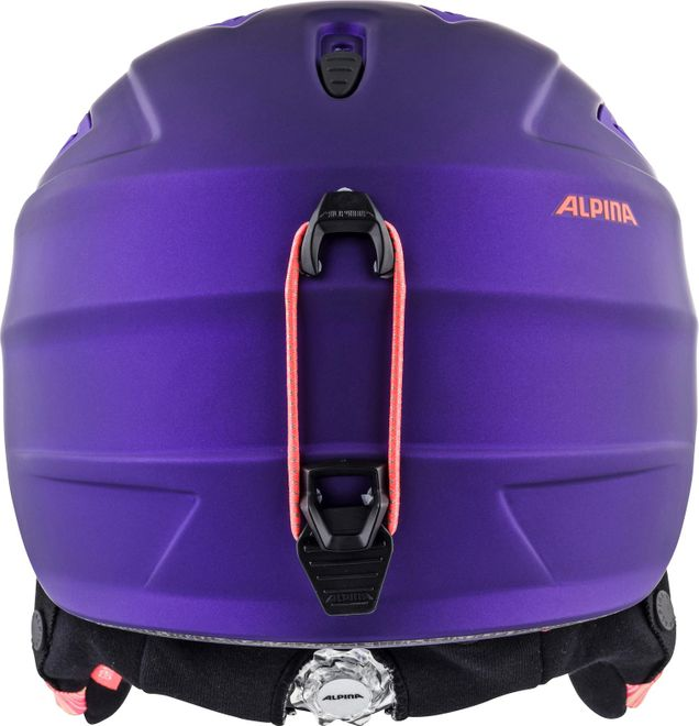 Alpina Skihelm Grap 2.0 L.E. - royal-purple matt – Bild 3