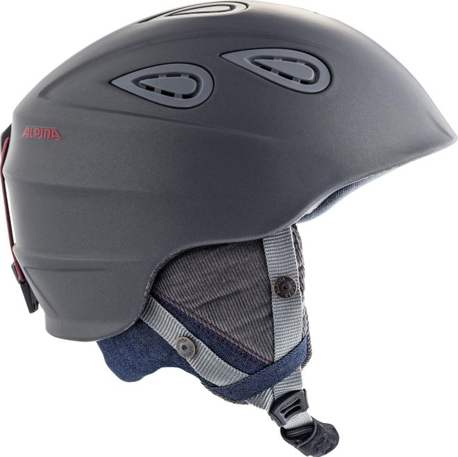 Alpina Skihelm Grap 2.0 L.E. - denim-grey matt – Bild 2