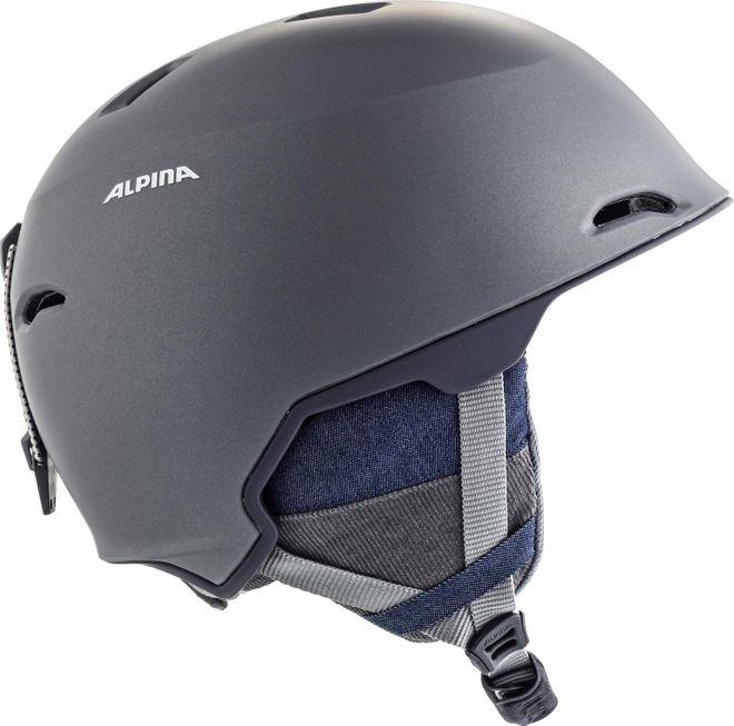 Alpina Skihelm Maroi - denim-grey matt – Bild 4