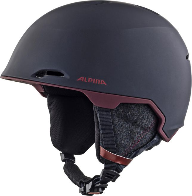 Alpina Skihelm Maroi - nightblue-bordeaux matt – Bild 1
