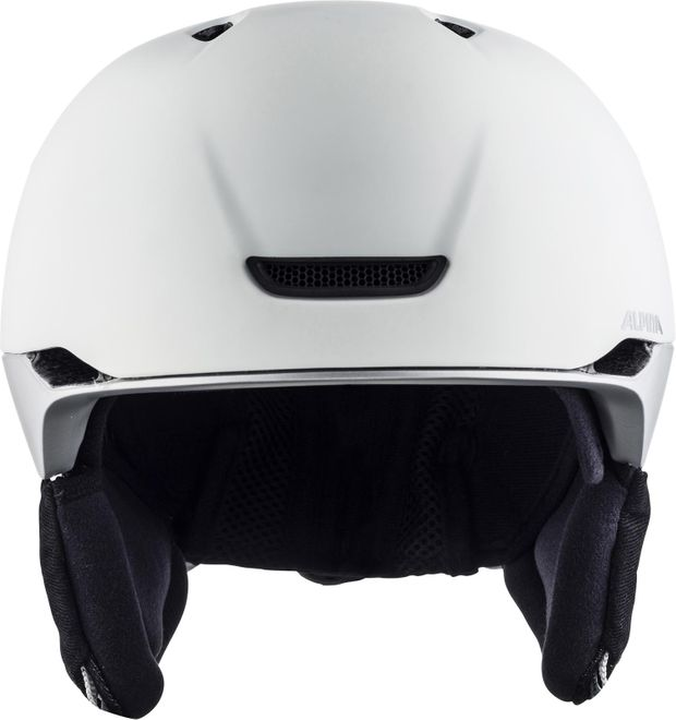 Alpina Skihelm Parsena - white grey matt – Bild 2